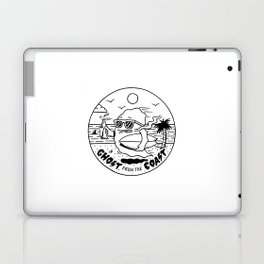 Ghost from the Coast Laptop & iPad Skin