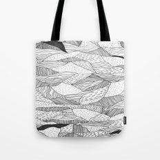 Broken Waves Tote Bag