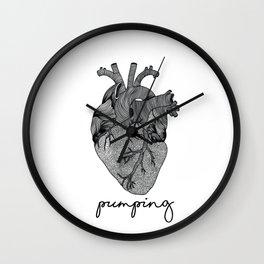 Keep pumping! Wall Clock