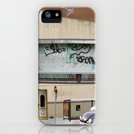illusion city collage 1 iPhone Case