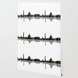 Washington DC Skyline BW 2 Wallpaper