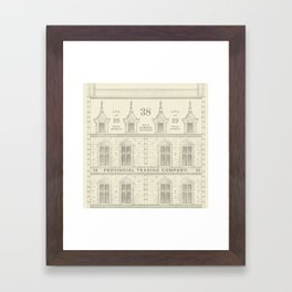 Provincial Trading Co's General Office Framed Art Print