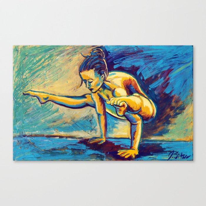 Jyoti (ज्योति) Canvas Print