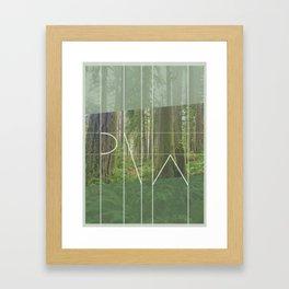 PNW - Rockport State Park Framed Art Print