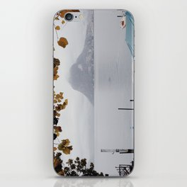 November in Lugano iPhone Skin