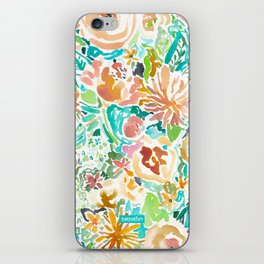 SANTA CRUZ FLORAL iPhone Skin