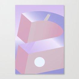 Geometric Calendar - Day 9 Canvas Print