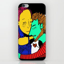 Amor Carnal iPhone Skin