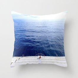 Monaco Calm Throw Pillow