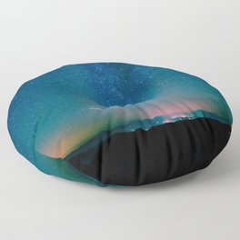 Desert Summer Milky Way Floor Pillow