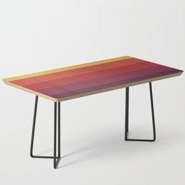 Retro Video Cassette Color Palette Coffee Table