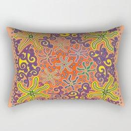 bungong jeumpa series: sandybrown Rectangular Pillow