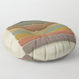 The Princess and the Pea Floor Pillow