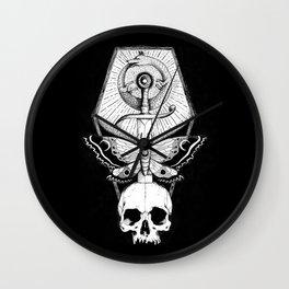 Wolf Ouroboros Sword Wall Clock