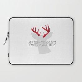 Deer meets headlights  Laptop Sleeve