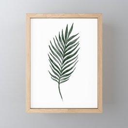Palm Branch Art Framed Mini Art Print
