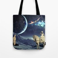 circus Tote Bags featuring Circus by Cs025
