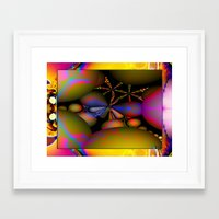 starfish Framed Art Prints featuring Starfish by Robin Curtiss