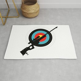 Target Shooting Rug