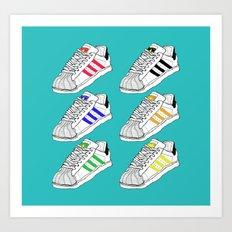 Adidas Art Print