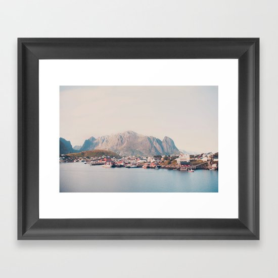 Foot of the Mountain Framed Art Print