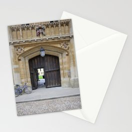 Oxford door 12 Magdalen College Stationery Cards