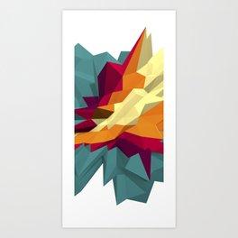SPIKE III Art Print
