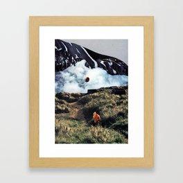 My friend Peter Framed Art Print