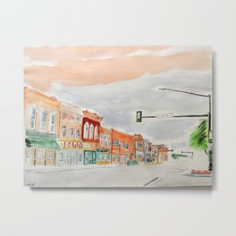Jefferson Street Metal Print