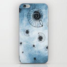 Sea of Ammonites iPhone Skin