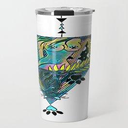 Regality (neon alternate) Travel Mug
