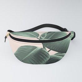 Ficus Elastica #25 #SummerVibes #foliage #decor #art #society6 Fanny Pack