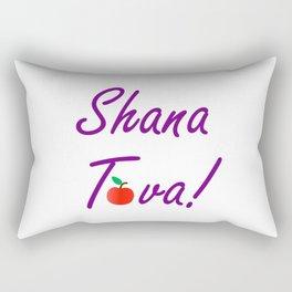 Shana Tova means 'sweet new year'- Rosh Hashanah or Jewish Near year greetings Rectangular Pillow