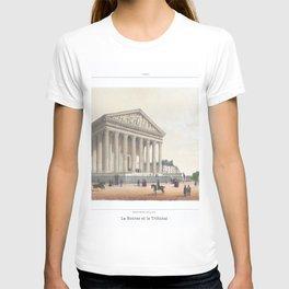 Paris Decor office decoration vintage decor LA MADELEINE of Paris T-shirt