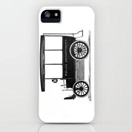 Police car iPhone Case