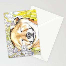 Jay Jay the happy Shiba Stationery Cards