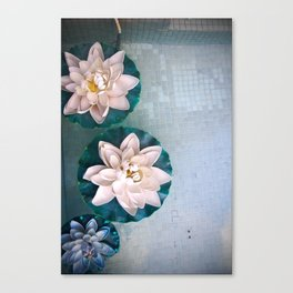 Other Flowers on the Pond Canvas Print