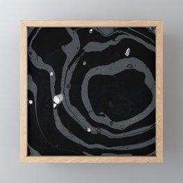 Marble Love 004 Framed Mini Art Print