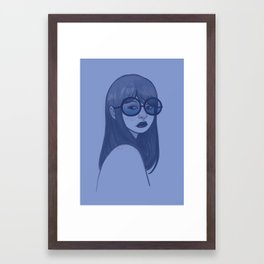 MOODY Framed Art Print