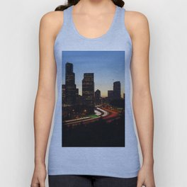 Seattle Skyline Sunset City Unisex Tank Top