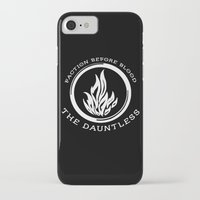 divergent iPhone & iPod Cases featuring Divergent - The Dauntless by Lunil