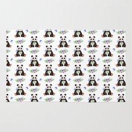 Garden Panda Pattern Rug