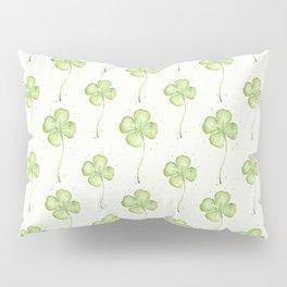 Four Leaf Clover Pattern Pillow Sham