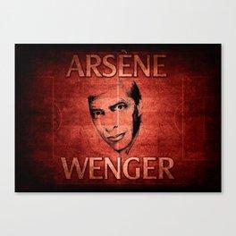 Arsene Wegner Canvas Print