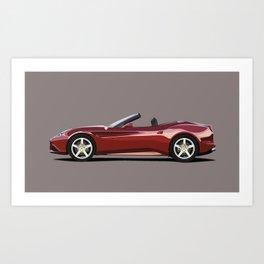 Ferrari California T Art Print
