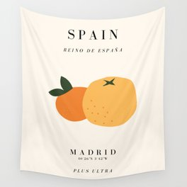 Spain Exhibition Wall Tapestry