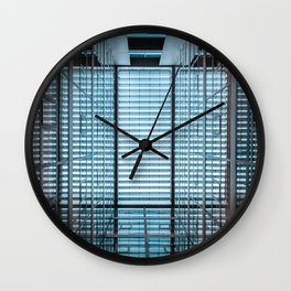 Symmetric wallpaper Wall Clock