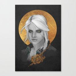Ciri -The Witcher Canvas Print