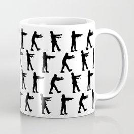 Zombie Silhouettes Coffee Mug