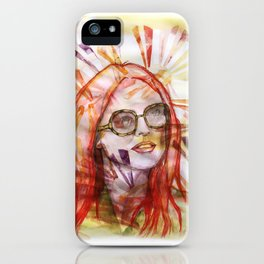 Julianne Moore Sunflower iPhone Case